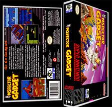 Inspector Gadget - SNES Reproduction Art Case/Box No Game.