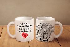 Bordeauxdogge - Keramik Becher DE