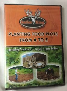 Antler King Hunting DVD Video Planting Food Plots From A to Z For Big Bucks NEW