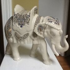 Lenox China Jewels Nativity Porcelain Elephant Made In The Usa