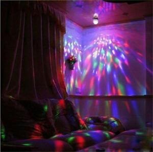 AUTISM SENSORY PRISMATIC LIGHT BULB ROTATING PERCEPTION LIGHT  ADHD  KIDS