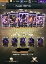 Legendary Game Of Heroes Account IOS (Thousands $ Worth Of Heroes/Relics)
