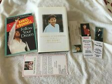 SIGNED DANIEL O'DONNELL Two Books and Signed Bookmark and 3 Bookmarks