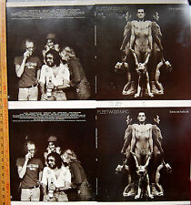 Heroes Are Hard to Find by Fleetwood Mac/RARE Sheet of 2 Un-cut Albums Covers
