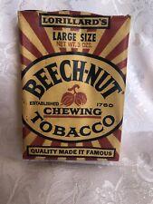 Vintage Beech-Nut Tobacco Advertising Package