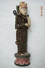 "Sale! Bali Temple Handtied Coin Goddess. 15"" Prov"