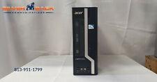 New listing Acer Veriton X2611G MiniTower Desktop Computer 4Gb Ram