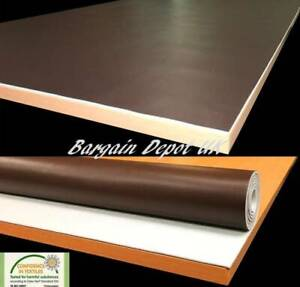 Brown Table Protector Heavy Duty Heat Resistant Executive Table Felt Sent Rolled