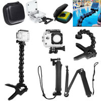 Jaws Flex Clamp Mount Rotary Holder Arm Camera Bag Housing Case for Gopro Hero 4