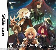 Used DS  	Sword World 2.0: Game Book   NINTENDO JAPANESE IMPORT