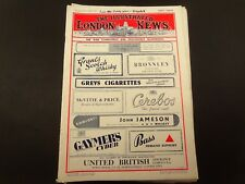 52 Illustrated London News magazines, 1943 to 1944.WWII, D-Day,etc..Illustrated.