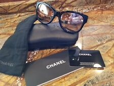 ❤❤ Chanel 5270A Black with Gold Mirror Lenses - BEAUTIFUL ❤❤