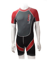 CHILDRENS NALU SHORTIE SHORTY BEACH SURF WETSUIT BOYS GIRLS YOUNG ADULT AGES