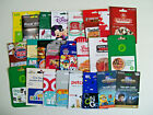 Lot Of 70+ GIFT CARD COLLECTION - BEST BUY , DISNEY , TARGET , PUBLIX , BENIHANA For Sale