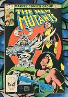 Marvel Comics: The New Mutants #5 [July 1983]