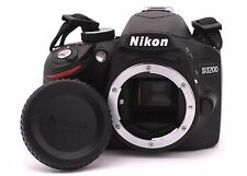 Nikon D D3200 24.2MP Digital SLR Camera - Black (Body Only) - Shutter Count: 250