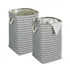 2 WENKO Wäschesammler 70L Wäschekorb Wäschebox Wäsche Korb Wäschesortierer 35x60