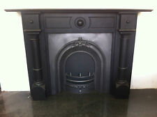 Restored Original Antique Victorian Slate Surround Arched Insert Fireplace PK220