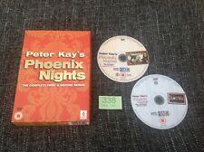 Phoenix Nights Box Set Series 1 & 2 / Season 1, 2 - Peter Kay Comedy DVD Lot 338