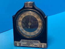 Vtg Collectible 20's Art Deco Style The Baltimore Paper Co.Desktop Thermometer