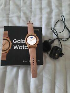 Samsung watch 42mm rose gold