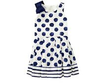 GYMBOREE Dress  Seaside Stroll Polka Dot Sleeveless   NWT SIZE 4