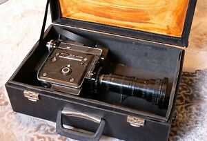 BOLEX H16 EMB Electric Movie Camera with Angenieux 12-120mm Zoom Lens f/2.2