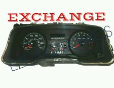 2007 2011 FORD CROWN VICTORIA INSTRUMENT CLUSTER EXCHANGE 140MPH POLICE PACKAGE