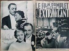"""LE FILM COMPLET 1936 N 1874 """" L' EXTRAVAGANT """" avec GARY COOPER  et JEAN ARTHUR"""