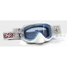 Rip N Roll Motocross Enduro MX Híbrida completamente cargada XL Gafas rnr-Blanco