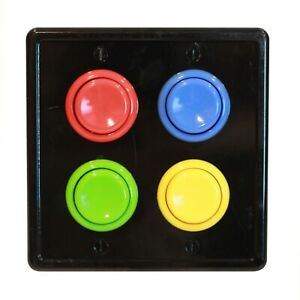 Arcade Light Switch Cover Plate, Double Switch