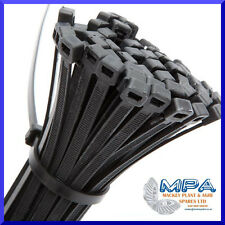 CABLE TIES - 100 x HIGH QUALITY NYLON CABLE TIES - 300 x 4.8mm RELIABLE DURABLE