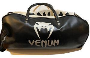 mma venum leather dufflebag