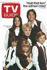 1970s Partridge Family on TV Guide replica fridge magnet - new!