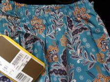 Zimmerli 100% cotton lounge pants L blue floral NEW pyjama bottoms MENS £150