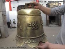 15 Tibet classicality buddhism Temple  Brass copper Sutra lection fengshui bell