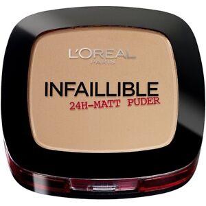 L'Oreal Infallible 24H Matte Powder Foundation - 245 Warm Sand