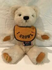 Merrythought Growler Mohair Jointed Bear Made in England