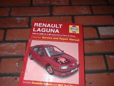 BRAND NEW HAYNES MANUAL FOR RENAULT LAGUNA. 1994 TO 2000. L TO W REGISTRATION