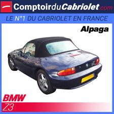 Bmw noire pour Z3 cabriolet - Capote en Alpaga Twillfast® sans poche latérale