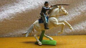Vintage 1971 Britains Deetail Civil War Union Cavalry Soldier CONVERSION