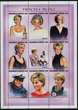 Mozambique 1306-8 MNH Princess Diana