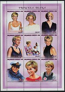 Mozambique 1306-8 MNH Princess Diana