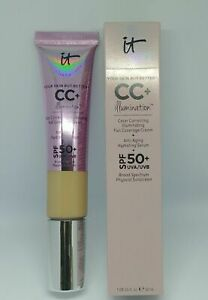 IT Cosmetics CC+ Your Skin But Better Illumination SPF Serum Light Medium Shade