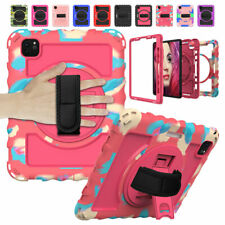 """For iPad 7th 6th 5th Gen Pro 9.7"""" 11"""" Air 2 Case Kids Shockproof w/ Stand Strap"""