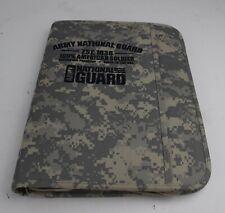 Army National Guard Binder Zipper Folder Portfolio Acu Digital Camo