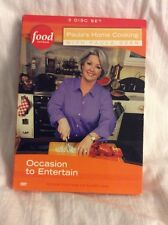 PAULA DEEN HOME COOKING OCCASION TO ENTERTAIN FOOD NETWORK Dvd 3 DISC SET