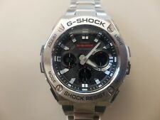 Casio G-Shock Stainless Steel Tough Solar Men's Watch GST-S110D-1A