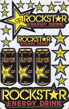 Nue Rockstar Energy Racing Supercross Grafik Aufkleber/sticker set. (st72)