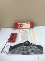 Vintage Lectra Pad Battery Operated Body Warmer w/ Box and Instructions A30